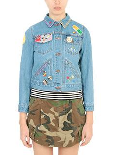Marc Jacobs-cyan denim outerwear