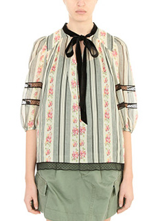 Marc Jacobs-green silk Blouse