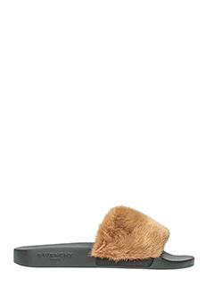 Givenchy-Sandali con pelliccia di visone