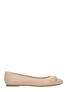 Michael Kors-Valencia powder leather ballet flats