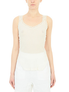 Helmut Lang-beige cotton topwear