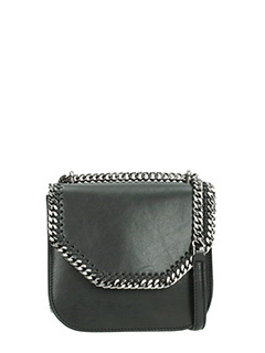 Stella McCartney-Borsa Mini Falabella Box  ineco nappa nera