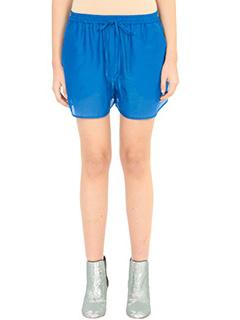 Diane Von Furstenberg-Shorts Beach in cotone blue