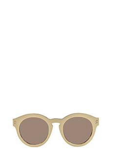 Stella McCartney-Occhiali da sole  in bio-acetato oro