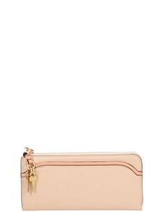 Chlo�-powder leather wallet