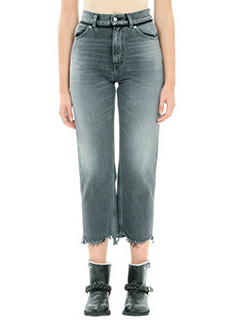 Golden Goose Deluxe Brand-Jeans Pant Komo in denim nero