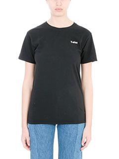 Vetements-T-shirt Tee in cotone nero