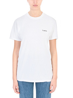 Vetements-T-shirt Tee in cotone bianco