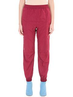 Vetements-Pantalone Vetements x Reebok in nylon bordeaux