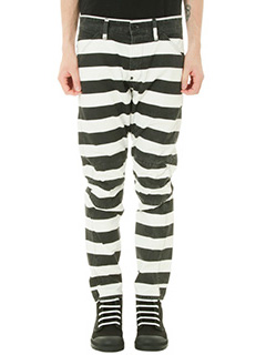 G-STAR RAW ELWOOD-Pantalone Stripe Print in cotone