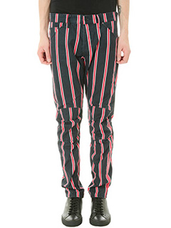 G-STAR RAW ELWOOD-Pantalone Regimental Stripe Print in cotone