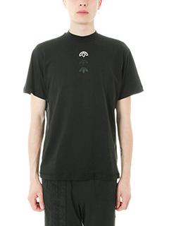 Adidas per Alexander Wang-T-shirt Logo in cotone nero