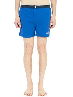 Kenzo-Boxer Kenzo Swim Paradise in cotone e nylon blu/verde