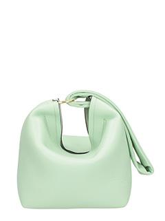 Victoria Beckham-Borsa Tissue in pelle verde