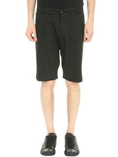 Low Brand-Shorts T7.1 Fantasy in cotone nero