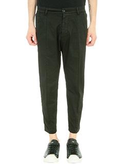 Low Brand-Pantalone in cotone nero
