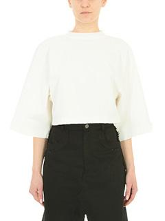 Damir Doma-Tova white cotton topwear