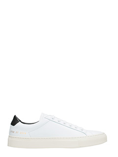 Common Projects-Sneakers basse Achilles Retro in pelle bianca