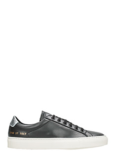 Common Projects-Sneakers basse Achilles Retro  pelle nera
