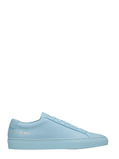 Common Projects-Sneakers basse Achilles Original in pelle celeste