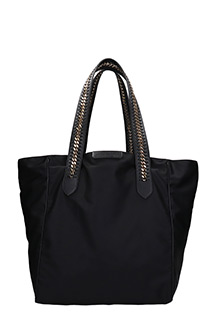 Stella McCartney-Tote black nylon bag