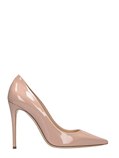 Dei Mille-rose-pink patent leather pumps