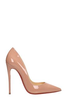 Christian Louboutin-Decollet� So Kate 120 in vernice rosa