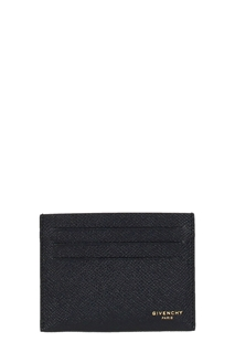 Givenchy-Portacarte in pelle nera