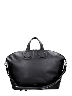 Givenchy-Borsa Nightingale Tote  in pelle nera