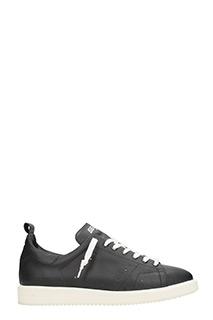 Golden Goose Deluxe Brand-Sneakers basse Starter in pelle nera
