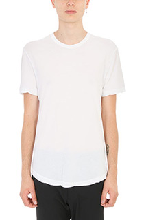 James Perse-T-Shirt in cotone leggero bianco