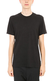 James Perse-T-shirt in cotone nero