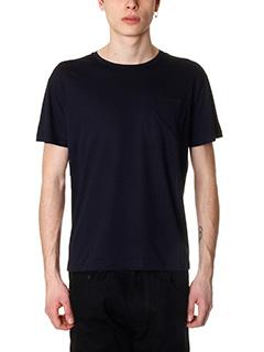 Valentino-blue cotton t-shirt