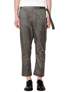 Jil Sander-Pantaloni in tessuto tecnico verde