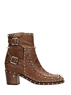 Laurence Dacade-badely brown leather ankle boots