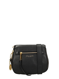 Marc Jacobs-Borsa Recruit Small Nomad in pelle nera