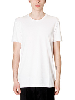 Low Brand-T-Shirt B1 in cotone bianco