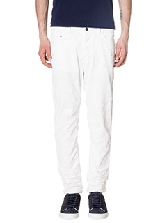 Low Brand-Jeans T5.1  in denim bianco