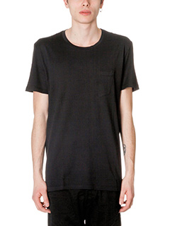 Low Brand-T-Shirt B2 in cotone nero