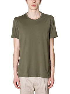 Low Brand-T-Shirt B2  in cotone verde