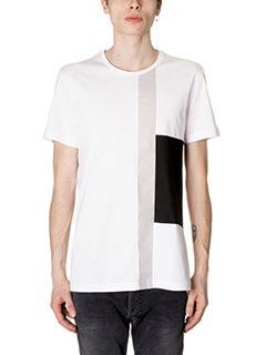 Low Brand-T-Shirt B31 in cotone bianco