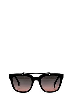 Saturnino Eye Wear-jupiter 10 black PVC sunglasses