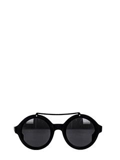 Saturnino Eye Wear-mercury 2 black PVC sunglasses