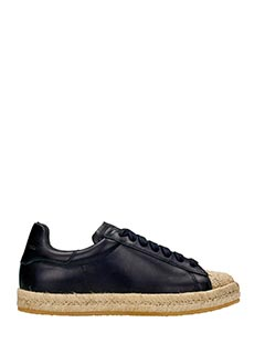 Alexander Wang-Rian black leather sneakers