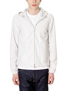 Jil Sander-grey cotton outerwear
