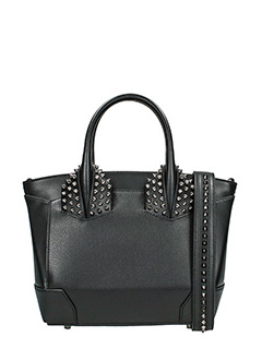 Christian Louboutin-eloise small  black leather bag