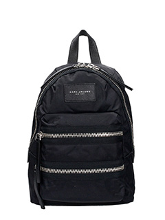 Marc Jacobs-Mini Backpack black nylon backpack
