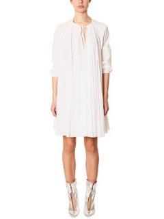 Ivana Omazic-Vestito Ida 02 in cotone bianco