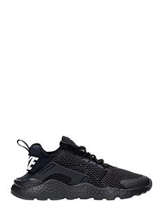 Nike-huarache run black Tech/synthetic sneakers