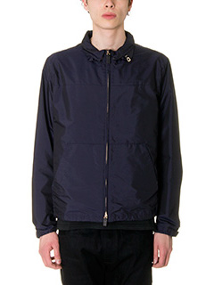 Valentino-blue Tech/synthetic outerwear